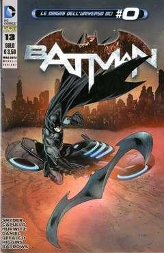 Copertina BATMAN 2012 #13 VARIANT n. - LE ORIGINI DELL'UNIVERSO DC! #0, RW LION