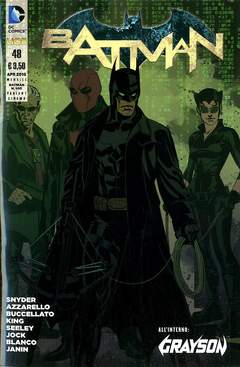 Copertina BATMAN 2012 #48 Variant n. - BATMAN, RW LION