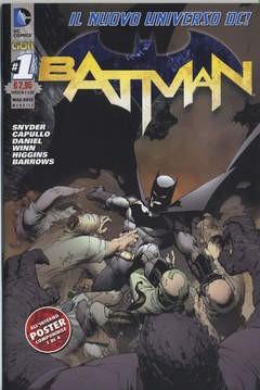 Copertina BATMAN 2012 n.1 - BATMAN, RW LION