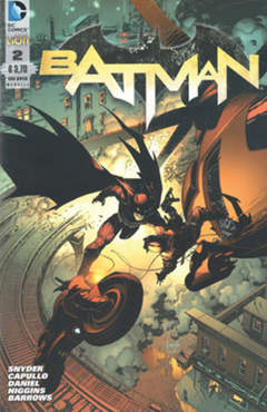 Copertina BATMAN 2012 n.2 - BATMAN, RW LION