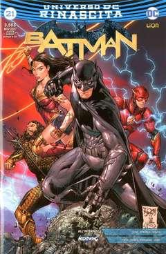 Copertina BATMAN #21 (S.J.V.C.) n. - Special Justice Variant Cover, RW LION