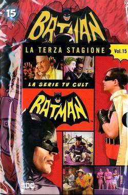 Copertina BATMAN '66 (DVD + Fumetto) n.15 - BATMAN '66, RW LION