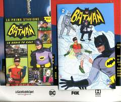 Copertina BATMAN '66 (DVD + Fumetto) n.2 - BATMAN '66, RW LION