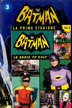 Copertina BATMAN '66 (DVD + Fumetto) n.3 - BATMAN '66, RW LION