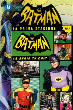 Copertina BATMAN '66 (DVD + Fumetto) n.4 - BATMAN '66, RW LION