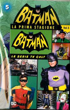 Copertina BATMAN '66 (DVD + Fumetto) n.5 - BATMAN '66, RW LION