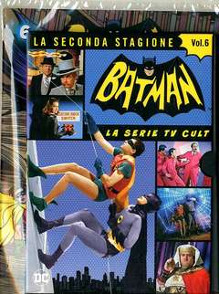 Copertina BATMAN '66 (DVD + Fumetto) n.6 - BATMAN '66, RW LION