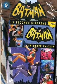 Copertina BATMAN '66 (DVD + Fumetto) n.9 - BATMAN '66, RW LION
