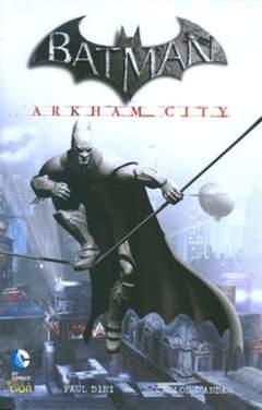 Copertina BATMAN ARKHAM CITY n. - ARKHAM CITY, RW LION