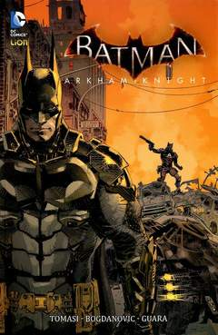 Copertina BATMAN ARKHAM KNIGHT riediz. n.1 - BATMAN: ARKHAM KNIGHT, RW LION