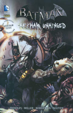 Copertina BATMAN ARKHAM UNHINGED n.2 - BATMAN: ARKHAM UNHINGED, RW LION
