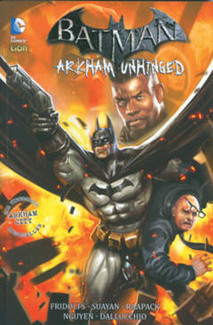 Copertina BATMAN ARKHAM UNHINGED n.3 - BATMAN ARKHAM UNHINGED, RW LION