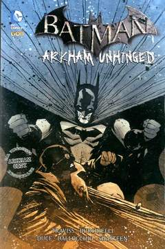 Copertina BATMAN ARKHAM UNHINGED n.5 - BATMAN: ARKHAM UNHINGED, RW LION