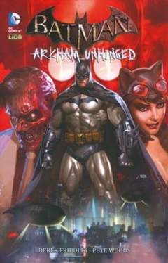 Copertina BATMAN ARKHAM UNHINGED n.1 - ARKHAM UNHINGED, RW LION