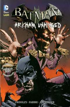 Copertina BATMAN ARKHAM UNHINGED n.4 - ARKHAM UNHINGED, RW LION