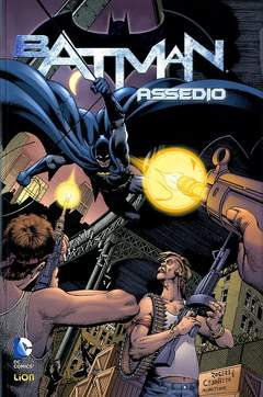 Copertina BATMAN ASSEDIO Brossurato n. - ASSEDIO, RW LION