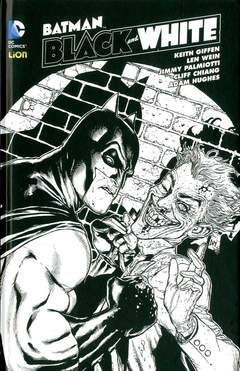 Copertina BATMAN BLACK & WHITE 6 n. - BLACK & WHITE 6, RW LION