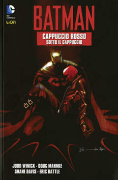 Copertina BATMAN CAPPUCCIO ROSSO n.2 - SOTTO IL CAPPUCCIO, RW LION