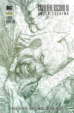 Copertina BATMAN CAV.OSCURO III Volume n.4 - LA RAZZA SUPREMA 4 (m5), RW LION