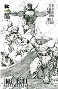Copertina BATMAN CAV.OSCURO III Volume n.5 - LA RAZZA SUPREMA 5 (m5), RW LION
