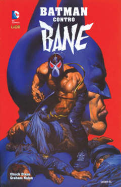 Copertina BATMAN CONTRO BANE n. - BATMAN CONTRO BANE, RW LION