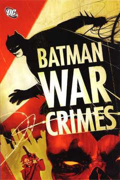 Copertina BATMAN CRIMINI DI GUERRA n. - CRIMINI DI GUERRA, RW LION