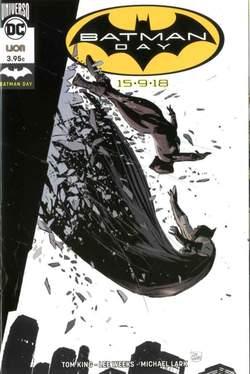 Copertina BATMAN DAY 2018 n.1 - BATMAN DAY Pack 1, RW LION