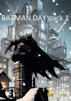 Copertina BATMAN DAY Pack 2017 n.1 - PACK 1, RW LION