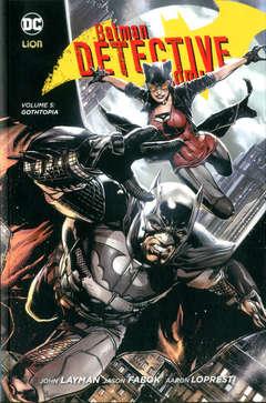 Copertina BATMAN DETECTIVE COMICS New 52 n.5 - GOTHTOPIA, RW LION
