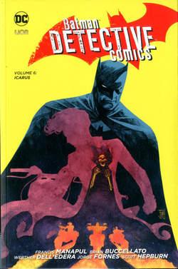 Copertina BATMAN DETECTIVE COMICS New 52 n.6 - ICARUS, RW LION