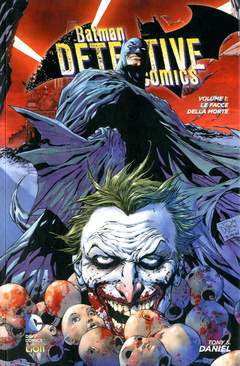 Copertina BATMAN DETECTIVE COMICS New 52 n.1 - LE FACCE DELLA MORTE, RW LION