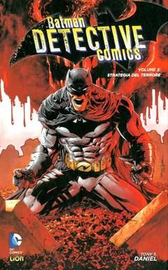 Copertina BATMAN DETECTIVE COMICS n.2 - STRATEGIA DEL TERRORE, RW LION