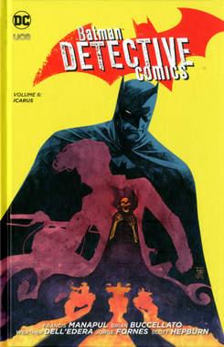 Copertina BATMAN DETECTIVE COMICS n.6 - ICARUS, RW LION
