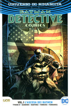 Copertina BATMAN DETECTIVE COMICS Rebirth n.1 - L'ASCESA DEI BATMEN, RW LION