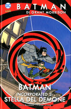 Copertina BATMAN DI GRANT MORRISON n.10 - BATMAN INCORPORATED 2: STELLA DEL DEMONE, RW LION