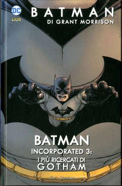 Copertina BATMAN DI GRANT MORRISON n.11 - BATMAN INCORPORATED 3: I PIU' RICERCATI DI GOTHAM, RW LION