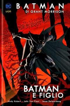 Copertina BATMAN DI GRANT MORRISON n.1 - BATMAN E FIGLIO, RW LION