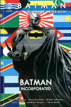 Copertina BATMAN DI GRANT MORRISON n.9 - BATMAN INCORPORATED 1, RW LION