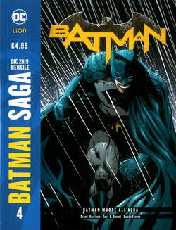 Copertina BATMAN DI GRANT MORRISON N.Ed. n.4 - BATMAN MUORE ALL'ALBA, RW LION