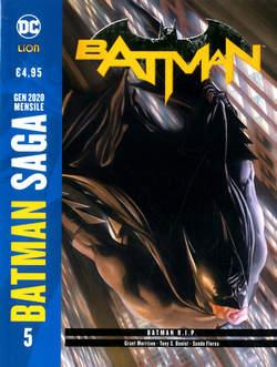Copertina BATMAN DI GRANT MORRISON N.Ed. n.5 - BATMAN R.I.P., RW LION