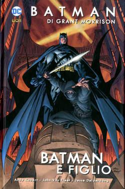 Copertina BATMAN DI GRANT MORRISON Rist. n.1 - BATMAN E FIGLIO, RW LION