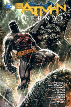 Copertina BATMAN ETERNAL Brossurato n.1 - BATMAN ETERNAL, RW LION