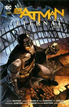 Copertina BATMAN ETERNAL Brossurato n.3 - BATMAN ETERNAL, RW LION