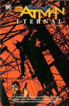Copertina BATMAN ETERNAL Brossurato n.4 - BATMAN ETERNAL, RW LION