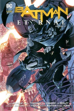 Copertina BATMAN ETERNAL Brossurato n.2 - ETERNAL, RW LION