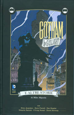 Copertina BATMAN GOTHAM BY GASLIGHT... n. - GOTHAM BY GASLIGHT E ALTRE STORIE, RW LION