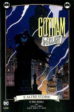 Copertina BATMAN GOTHAM BY GASLIGHT Ried n. - GOTHAM BY GASLIGHT E ALTRE STORIE, RW LION