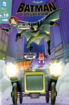 Copertina BATMAN E I SUPERAMICI n.16 - BATMAN E I SUPERAMICI, RW LION