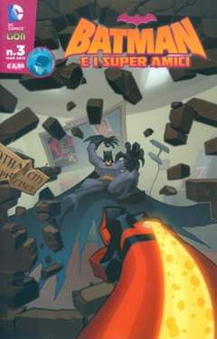 Copertina BATMAN E I SUPERAMICI n.3 - BATMAN E I SUPERAMICI, RW LION