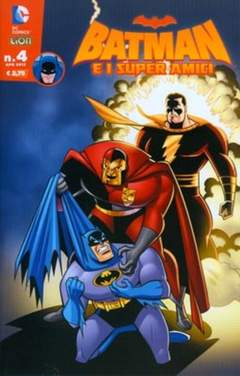 Copertina BATMAN E I SUPERAMICI n.4 - BATMAN E I SUPERAMICI, RW LION